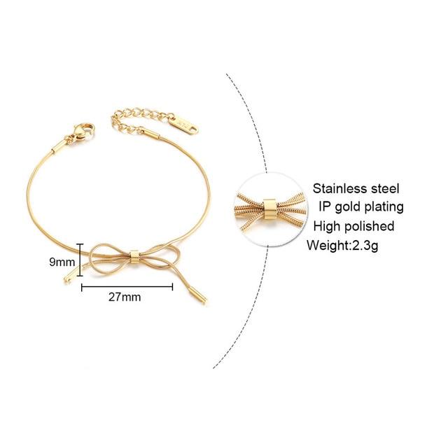 модные браслеты розового золота для женщин темпераментные милые фотография