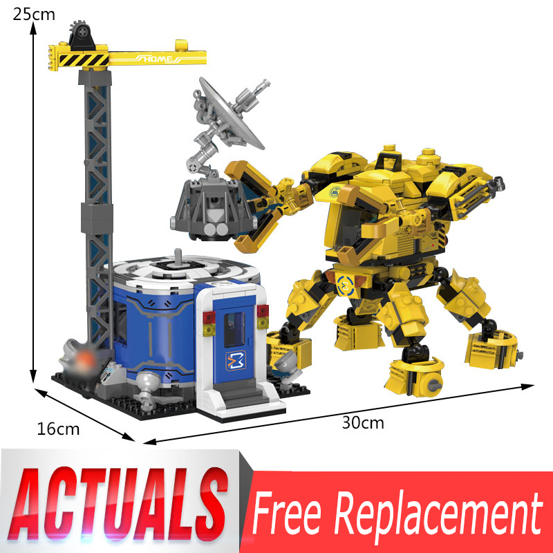 XingBao 02103 New Kids Toys City Series The Alien Engineering Set Model Building Blocks Bricks Toys For Kids As Christmas Gifts цена