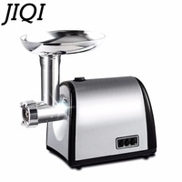 JIQI Stainless Steel Household Electric Meat Grinder Slicer Cutter Vegetable Mincer Chopper Sausage Filler Food Filling