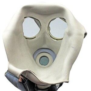 Image 2 - צבאי גז מסכת 64 מלא פני Respirator ציור ריסוס חומרי הדברה טבעי גומי מסכת כימי מניעת 0.5M צינור מסנני