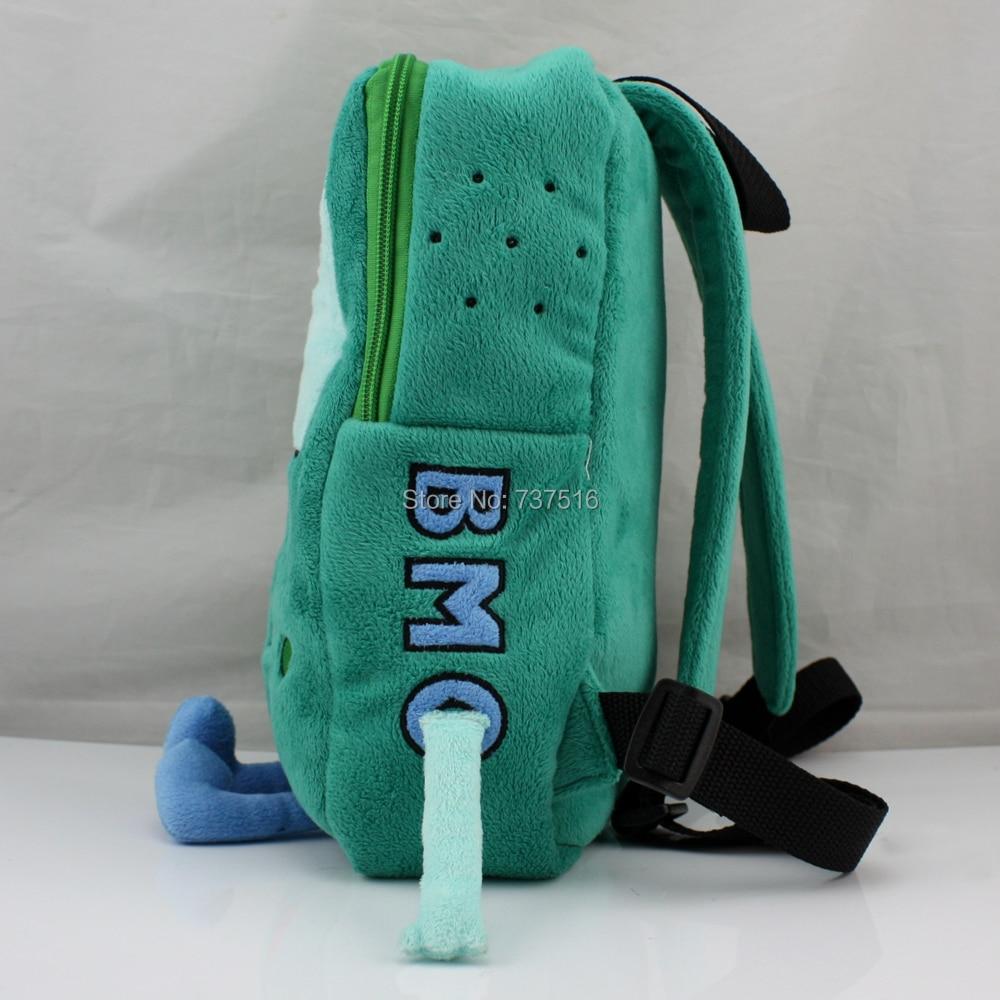 """13/"""" Backpack Adventure Time BMO Beemo Plush Book Bag Christmas Gift US Ship"""