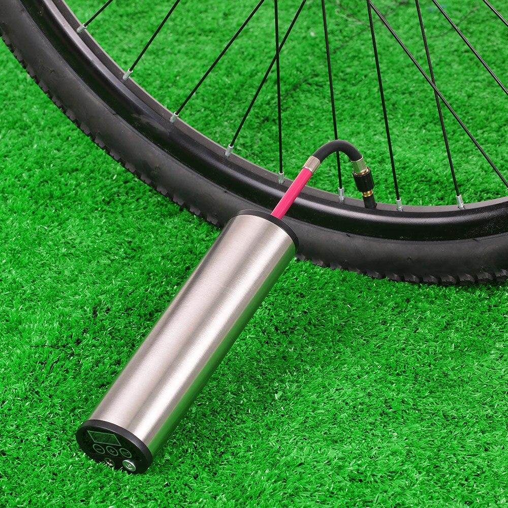 Sepeda Listrik Inflator Siklus Air Pompa Tekanan 150psi Ban Mobil Compressor Car Portable Bersepeda Portabel Isi Ulang Dengan Lcd Display