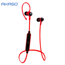 AKASO AKASO Sport Wireless Bluetooth Headphone Earphone Headset With Microph adsorbable magnet Non-slip For Outdoor ear phone