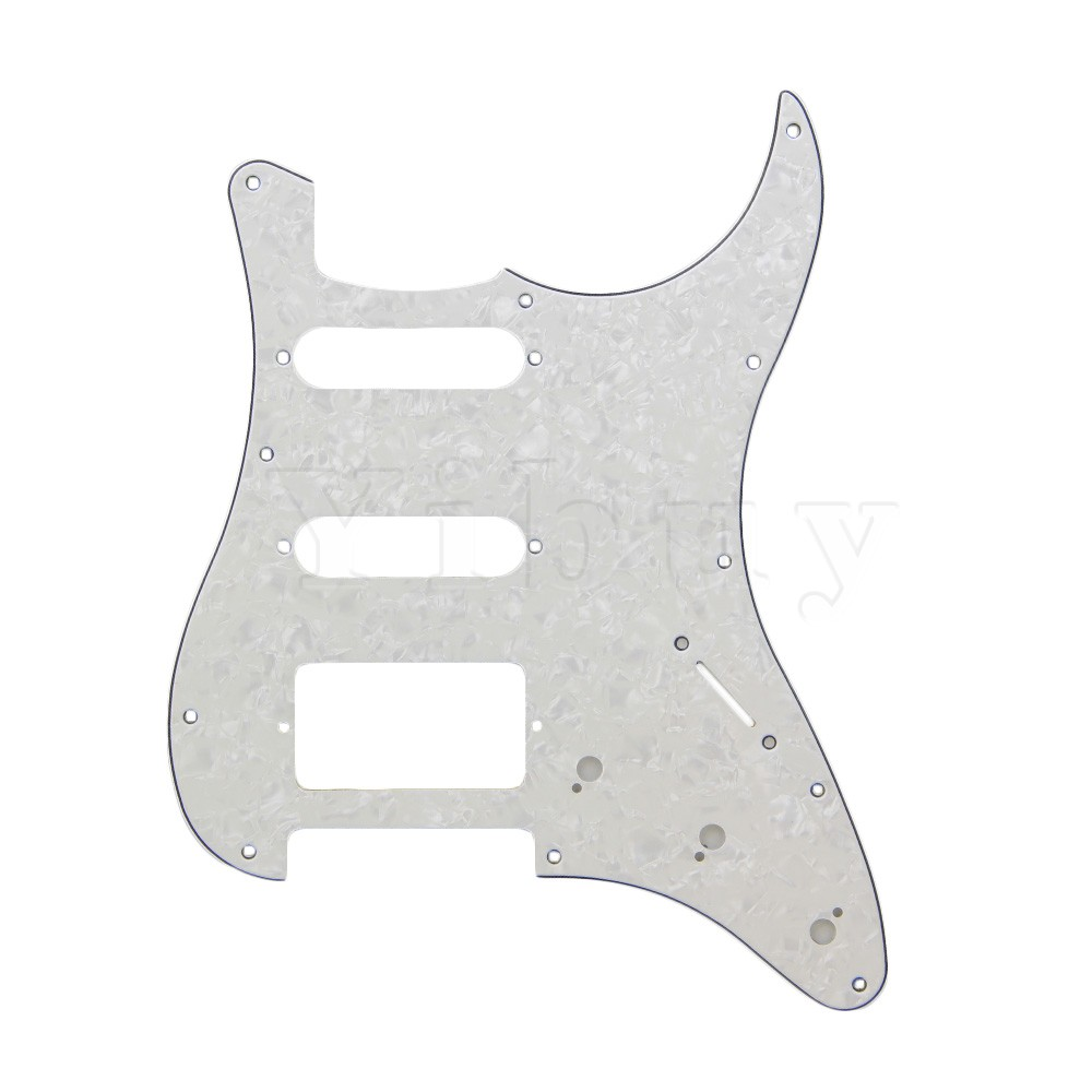 Yibuy 3PLY White Pearl PEARLOID Guitar Pickguard SSH S-S-H матрас konkord classic comfort strutto 120x200x22