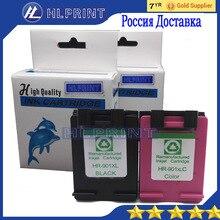 2 шт. совместимый картридж 901XL для HP Officejet J4580 4540 4500 4560 4640 4680 4660 принтеры