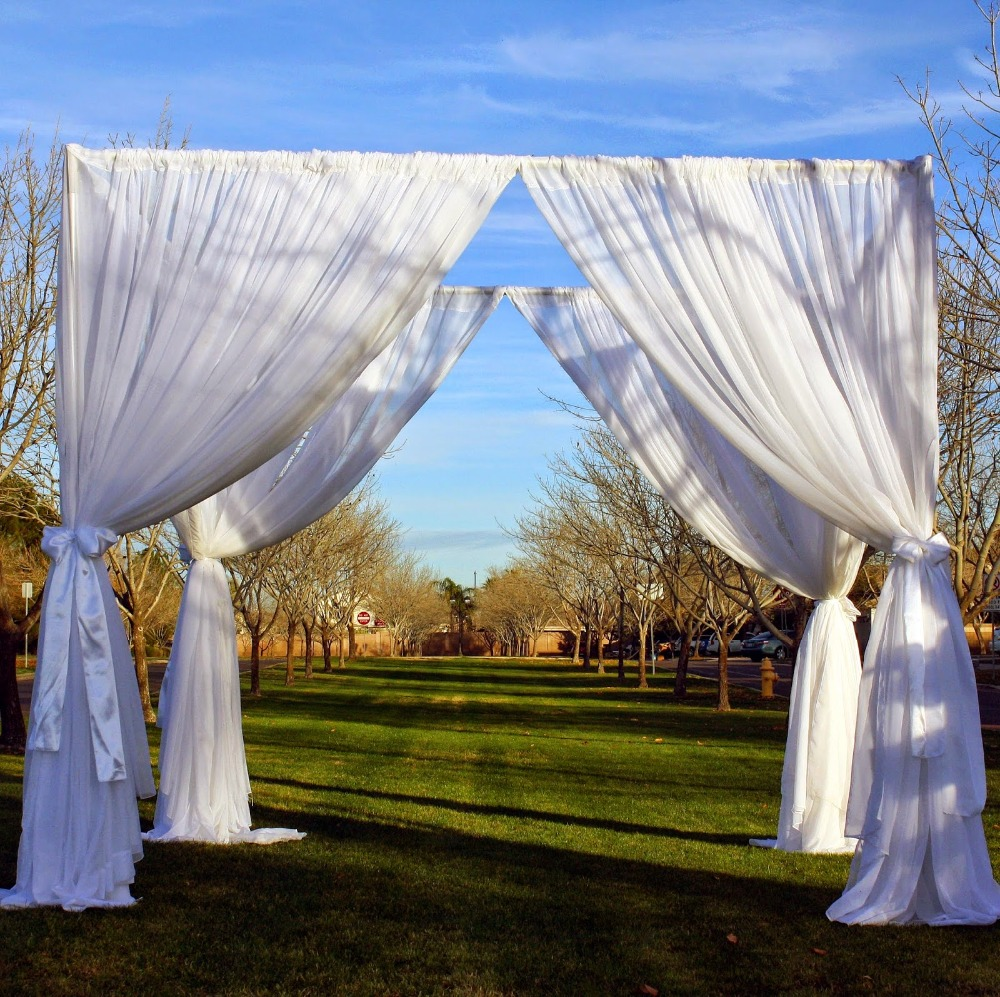 Online get cheap canopy wedding alibaba for Canape decoration