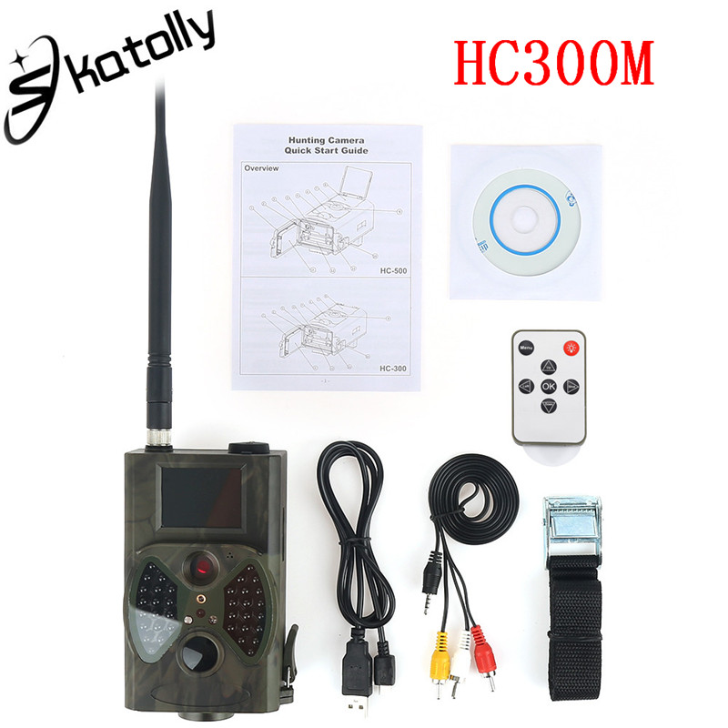 все цены на Skatolly HC300M Hunting Trail Camera Full HD 12MP 1080P Video Night Vision MMS GPRS Scouting Infrared Game Hunter Camera