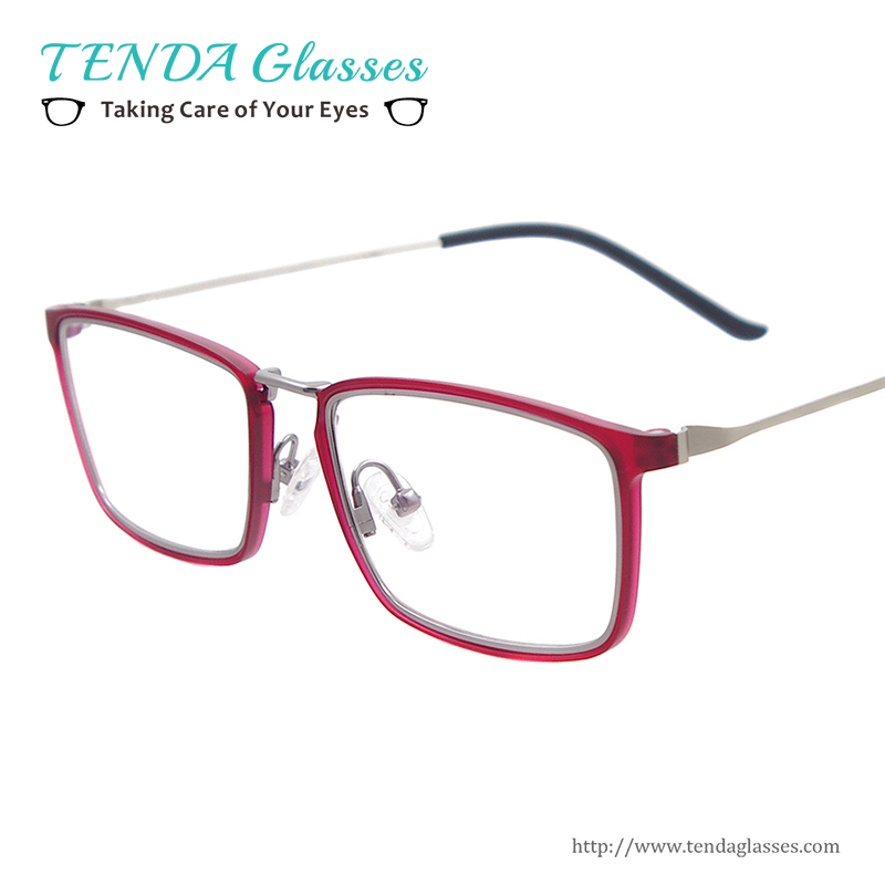 Men Rectangular Lightweight Spectacles Women Fashion ...