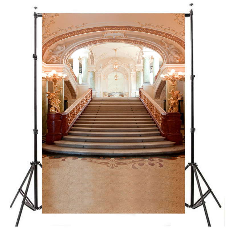 5X7ft Beauty Wedding Palace Studio Photography Background For Studio Photo Props Photographic Backdrops 1 5x 2