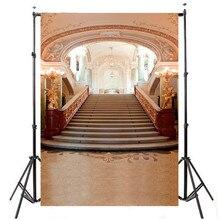 5X7ft Beleza Palácio Do Casamento Fundo do Estúdio de Fotografia Para Estúdio de Fotografia Adereços Fotográfico Backdrops 1.5×2.1 m