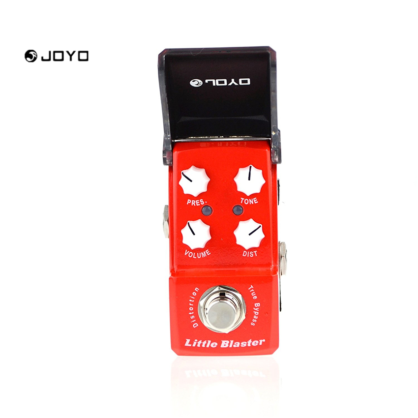 JOYO JF-303 Little Balster IRONMAN Effect Pedal Distortion Guitar Vintage English Tube Warm Glossy Ture Bypass joyo jf 312 ironman pipebomb compressor guitar effect pedal control dynamic output fatten your sound ture bypass free shipping