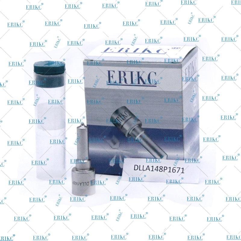 ERIKC 0445120102 Injector Spare Parts DLLA 148 P 1671 Oil Fog Nozzle DLLA 148P 1671 High Precise Nozzle Oem 0 433 172 025