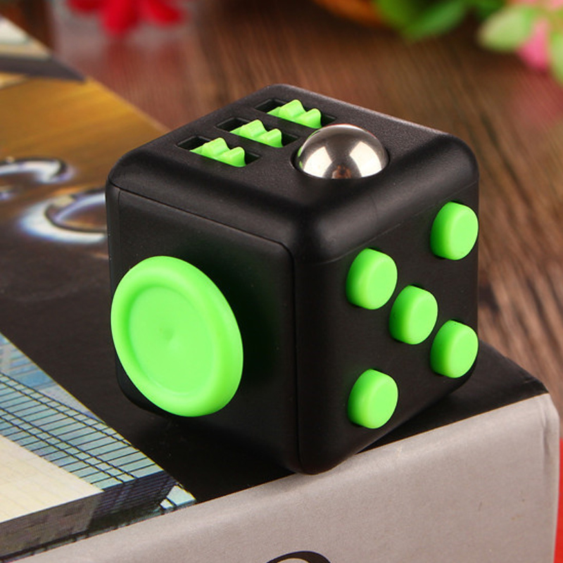 Fidget Cube Squeeze Fun Stress Reliever Gift Relieves Anxiety and Stress Juguet For Adults Fidgetcube Desk Spin Toys #E 9 types squeeze stress reliever fidget cube pc vinyl fidgetcube game toy kickstarter fidget toys for girl boys christmas gifts