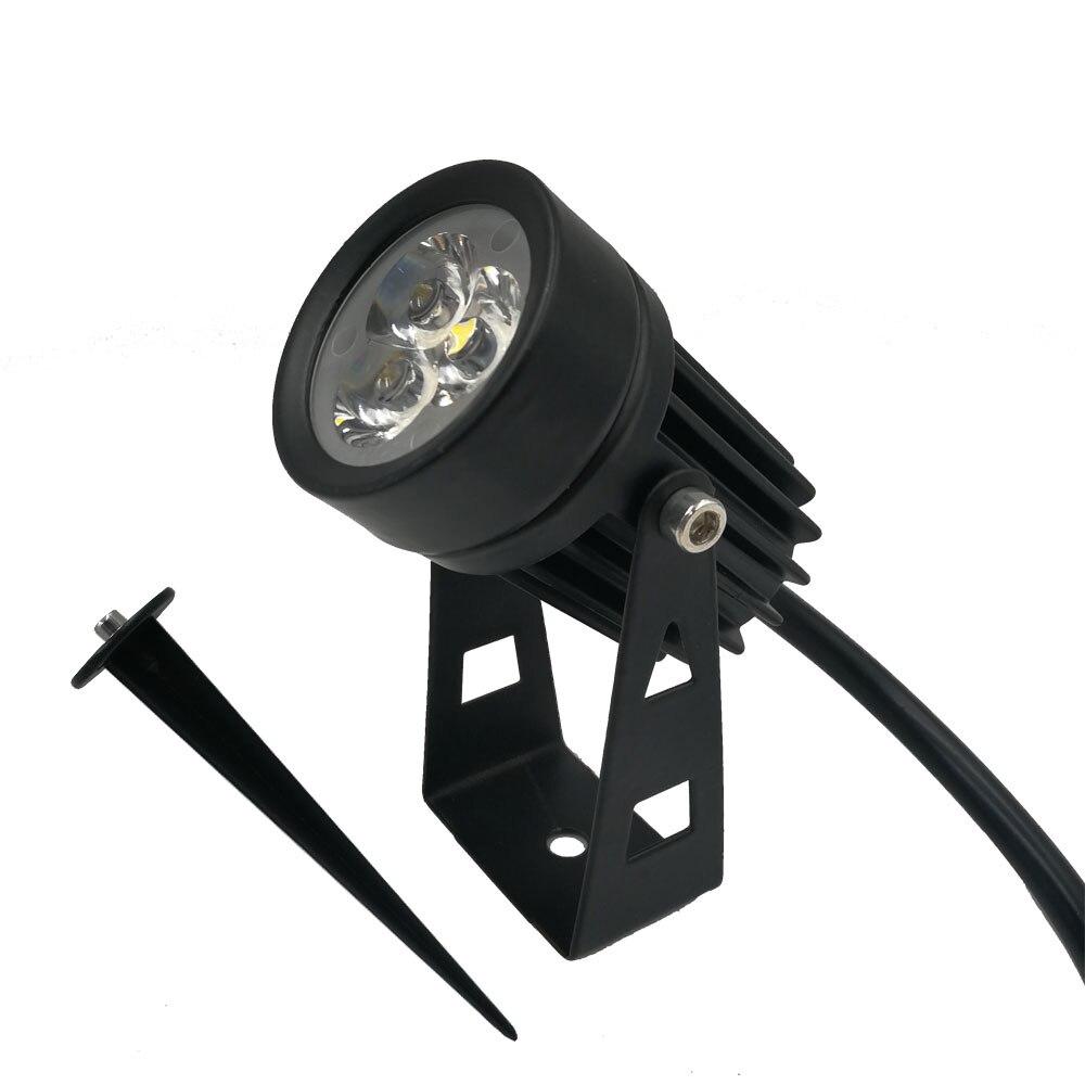10pcs X 12V Outdoor Garden Light 3W Waterproof LED Flood Spot Light Lawn Lamp Garden Wall