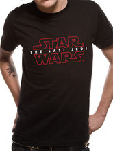 Star Wars - The Last Jedi Logo T-Shirt Unisex  Free shipping Harajuku Tops Fashion Classic Unique Cotton free