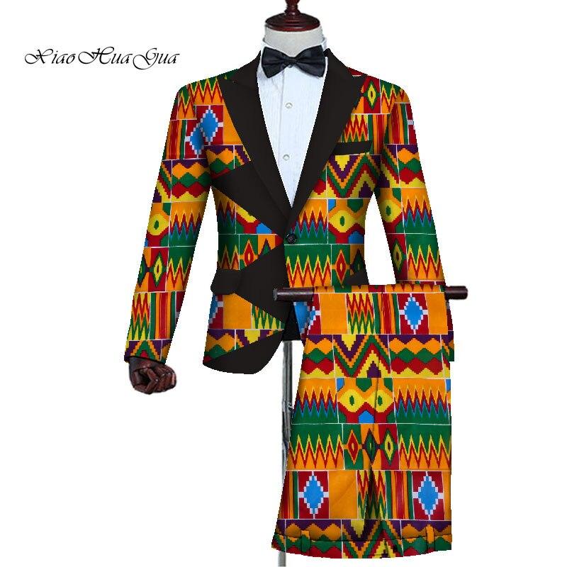 Mais tamanho feito sob encomenda ternos africanos
