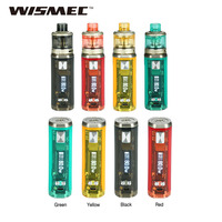 New 80W WISMEC SINUOUS V80 TC Kit with SINUOUS V80 TC Box MOD & 3ml Amor NSE Atomizer Tank MTL / DL Vape Kit VS IStick Pico Kit