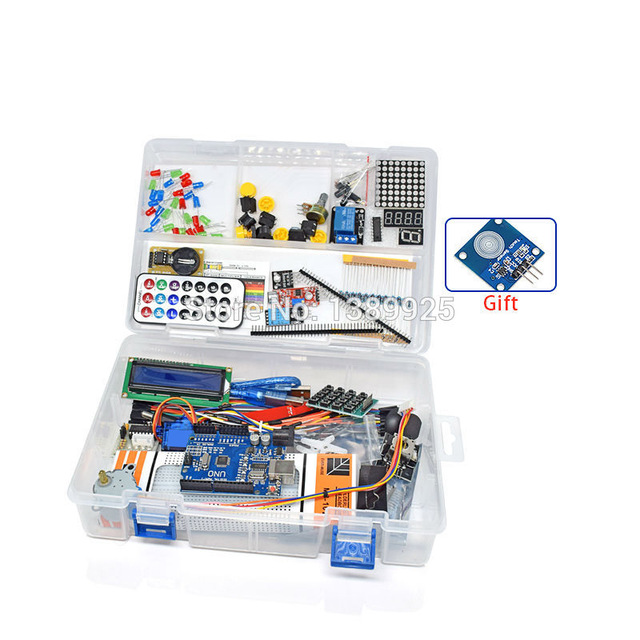 Weikedz NEWEST RFID Starter Kit for Arduino UNO R3 Upgraded Version Learning Suite With Retail Box