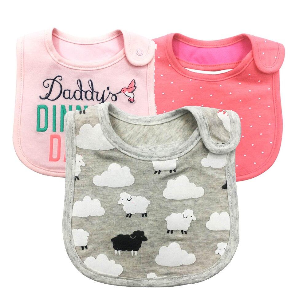 Baby Couleur Bavoir Garçon//Fille Serviette Chiffon alimentation Kids Toddler Infant cadeau 23 x 19 cm