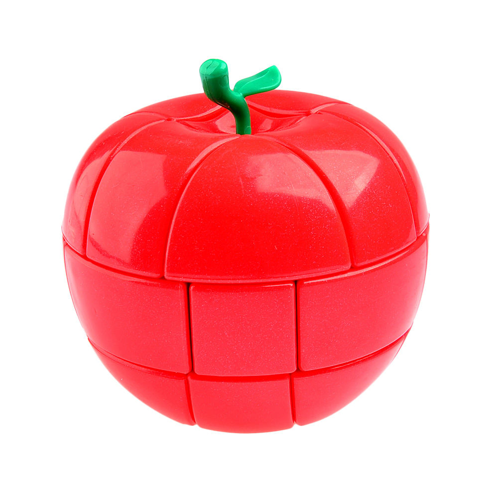 YongJun YJ 3x3x3 Red Apple Style Strange-shape Puzzles Magic Cubes For Kids Child Smooth Educational Toys Speed Cubo Magico