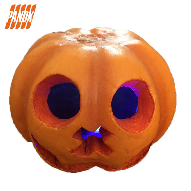 Party pumpkin lights halloween decorations props playground bar party pumpkin lights halloween decorations props playground bar ghost halloween pumpkin lights decorations props free shipping aloadofball