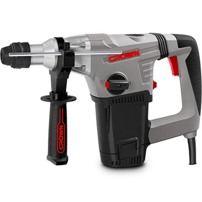 Hammer Drill electric CROWN CT18116 BMC (no load speed from 0 to 750 rev/min, 2800 beats per minute, case) crown xlc 2800