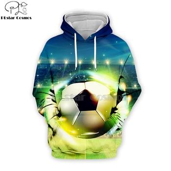 PLstar Cosmos sport footballs 3D Print Hoodies/Sweatshirt/Jacket  Men Women Galaxy Unisex streetwear Drop shipping-5 animal print drop shoulder sweatshirt