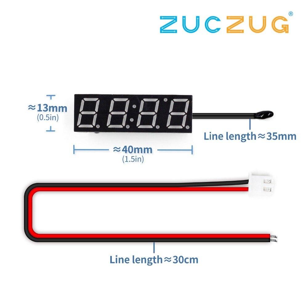 Time Clocks DC4.2-24V MCU clock module 0.56 digital clock ...