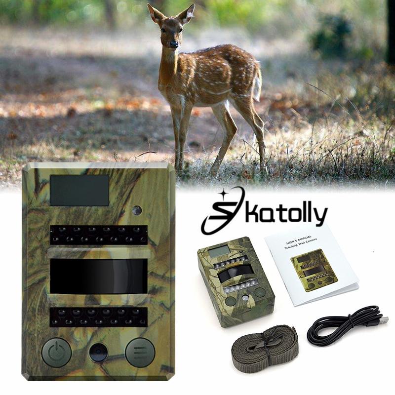 Skatolly Brand 1*HD Hunting Camera Infrared Night Vision Sensor Surveillance 30FPS Digital S690 Hunting Cam Free shipping! бензопила fubag fps 46 38706