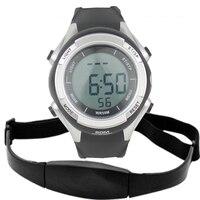 Impermeable pulso inalámbrico reloj pulsómetro polar digital cardio sensor fitness deporte Correr HRM pecho pulsómetro