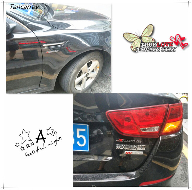 New arrival 3d metal car stickers decal for saab 9 3 9 5 900