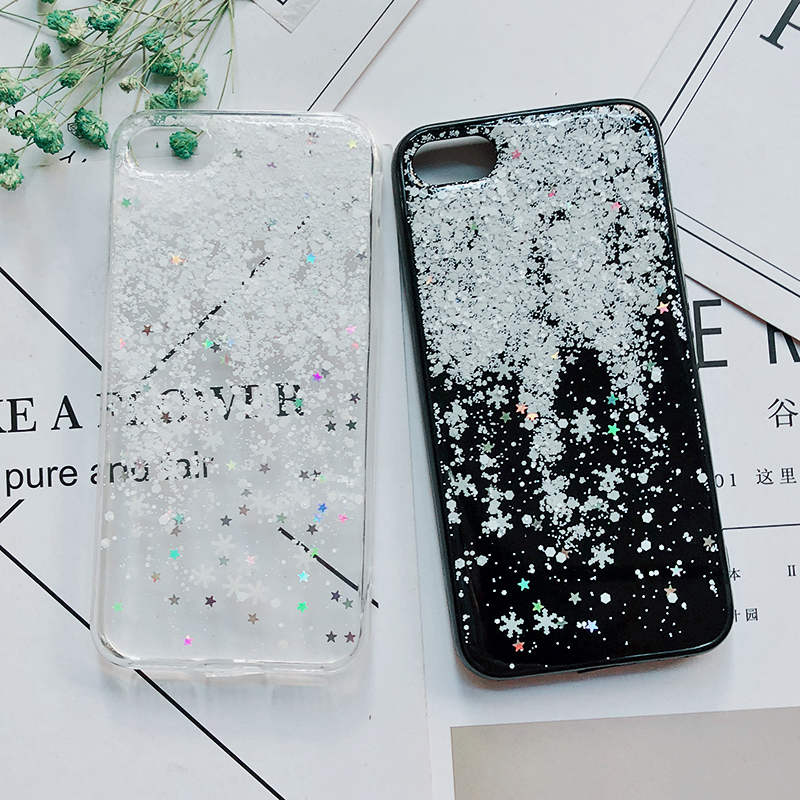 Luxury Gold Foil Bling Marble Phone Cases For iPhone X 10 Cover Hole Soft TPU Cover For iPhone 7 8 6 6s Plus Glitter Case Coque (3)