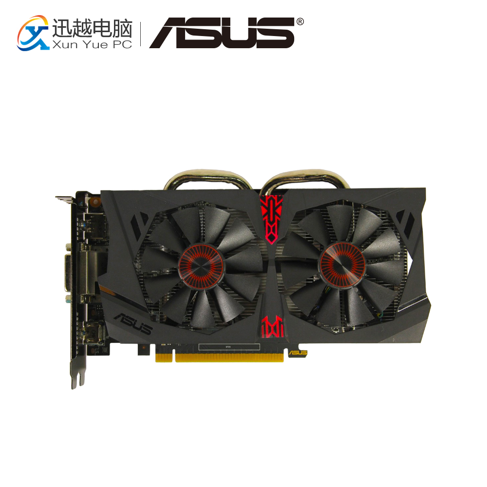 ASUS GTX 950-DC2OC-2GD5-GAMING Original Graphics Cards 128 Bit GTX 950 GDDR5 Video Card DVI HDMI DP For Nvidia geforce GTX 950 цены онлайн