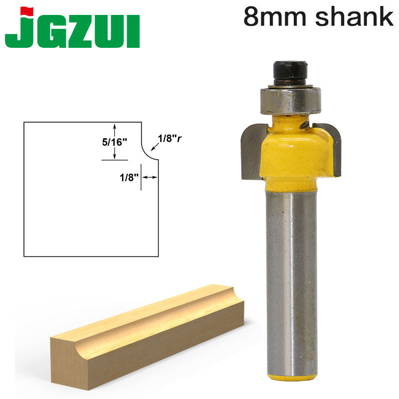 Cove Edging And Molding Router Bit  Shank Woodworking Cutter For Power Tool