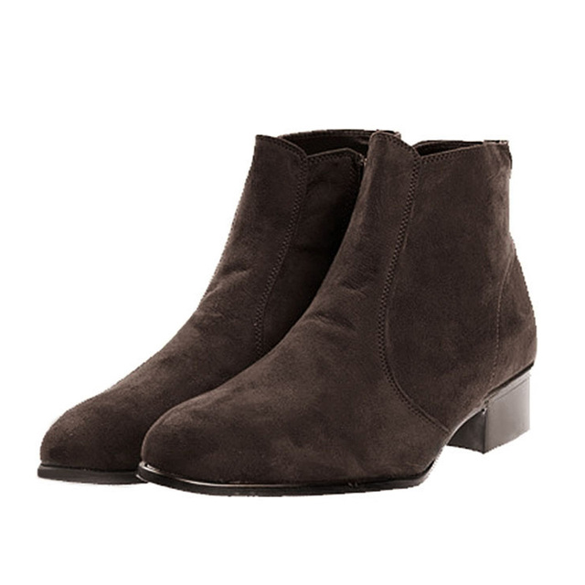 Aliexpress.com : Buy Chelsea Boots Men High Top Ankle Boots ...