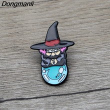 L3358 Dragon Ball Strega del Metallo Dello Smalto Spille Spille Del Fumetto Creativo Spilla In Metallo Spilli Denim Cappello Distintivo Del Collare Dei Monili 1pcs(China)