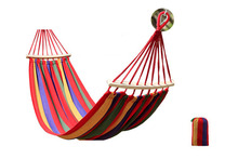 Große Leinwand Hängematte mit Stick Doppel Person Garten Schaukel Bett Hängen Bett Stuhl Roller Prävention Outdoor Camping 260*150 /100 cm