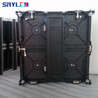 P4.81 Indoor LED Display Die Casting Aluminum Cabinets 500mm*500mm for Stage Videowall Rental LED Screen Flight Case Pack