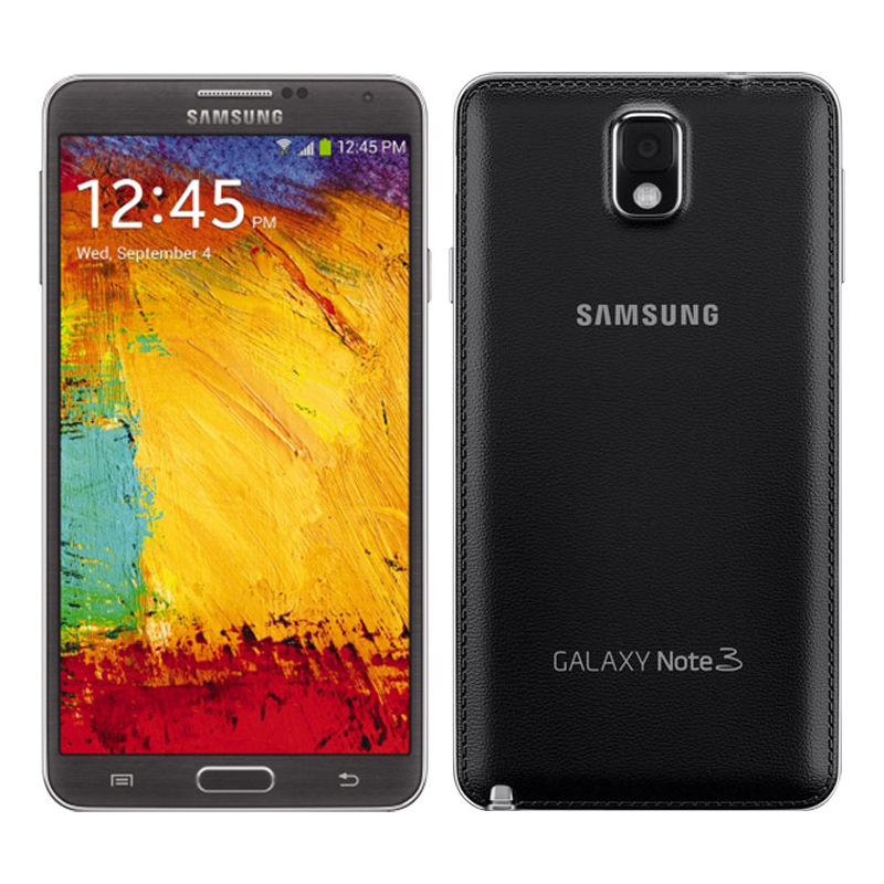 Original Samsung Note3 note 3 N900 N9005 EU Unlocked android Mobile Phone Quad Core 3GB RAM 5.7 Inches 13MP GPS Refurbished