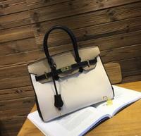 AAA New 2018 Корейская версия, мешок, личи в полоску платины сумка