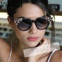 2017 Mode Cat Eye lunettes De Soleil Femmes Nouveau Diamants Décoratif  Strass Marque Designer Lunettes Femmes 582e5dad2fcc