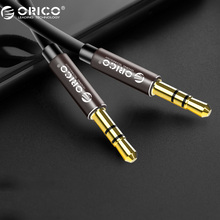 ORICO 3.5mm Jack Audio Cable Speaker Line Aux Cable 3.5mm Aux Cable for iphone 6 Samsung galaxy s8 Car Headphone