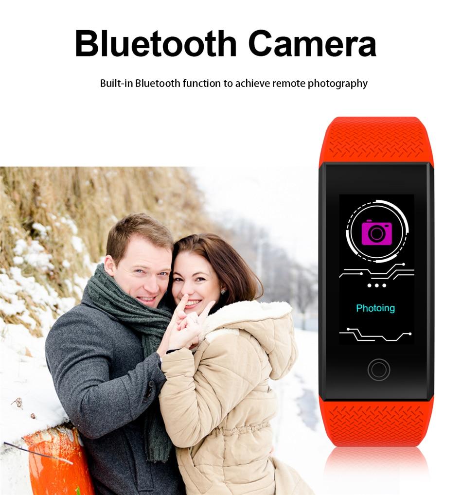 BANGWEI 2018 New Men Smar watch Blood pressure heart rate monitor basketball Fitness Tracker Smart Sport Watch Reloj inteligente 16