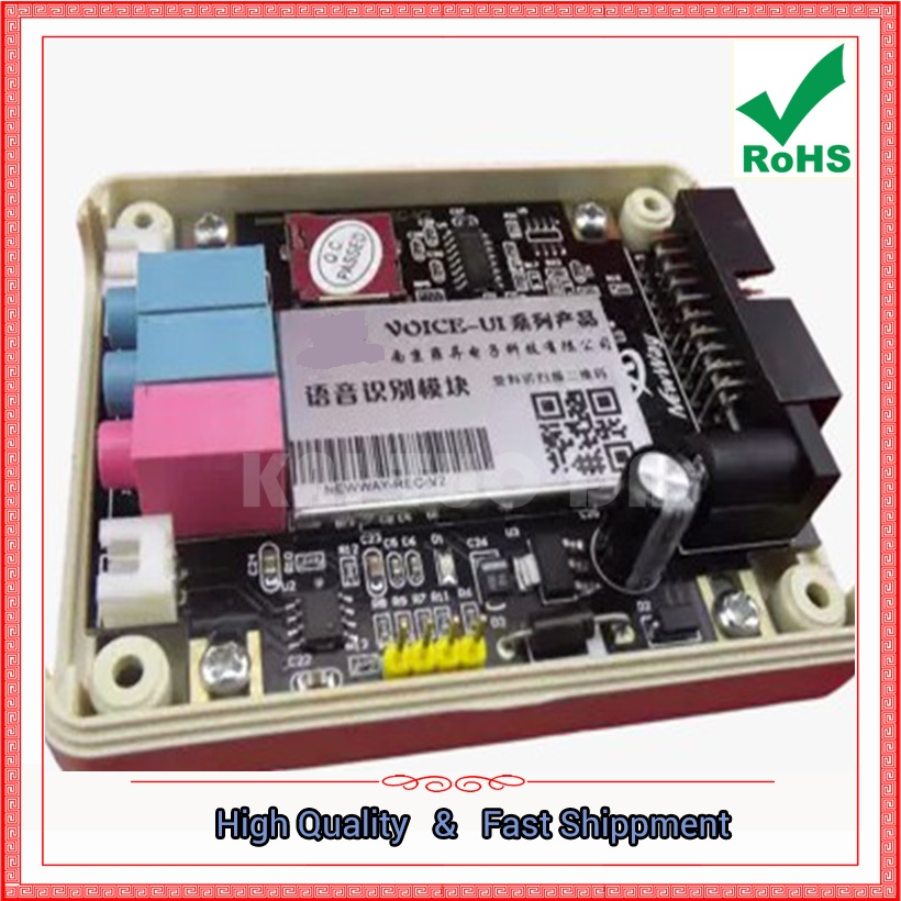 Speech Recognition Module Voice Control Module Sound Recognition REC-V2 Special board (C3B5)Speech Recognition Module Voice Control Module Sound Recognition REC-V2 Special board (C3B5)