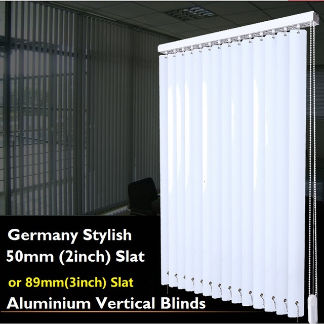 Durable Aluminium Vertical Blinds (slat Wide 50mm Or 89mm) Made To Measure  Sizes