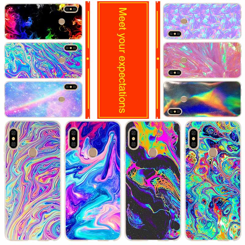 <font><b>Phone</b></font> case for Xiaomi <font><b>Redmi</b></font> 8a <font><b>7a</b></font> 6a 5a 5plus 4x Note 8 7 6 5 9 5a pro 8t <font><b>Cover</b></font> rainbow iridescent holographic image