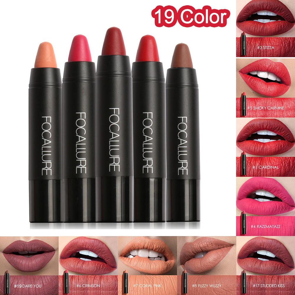 Women Matte Waterproof Long Lasting Lipstick Pen Cosmetics Makeup