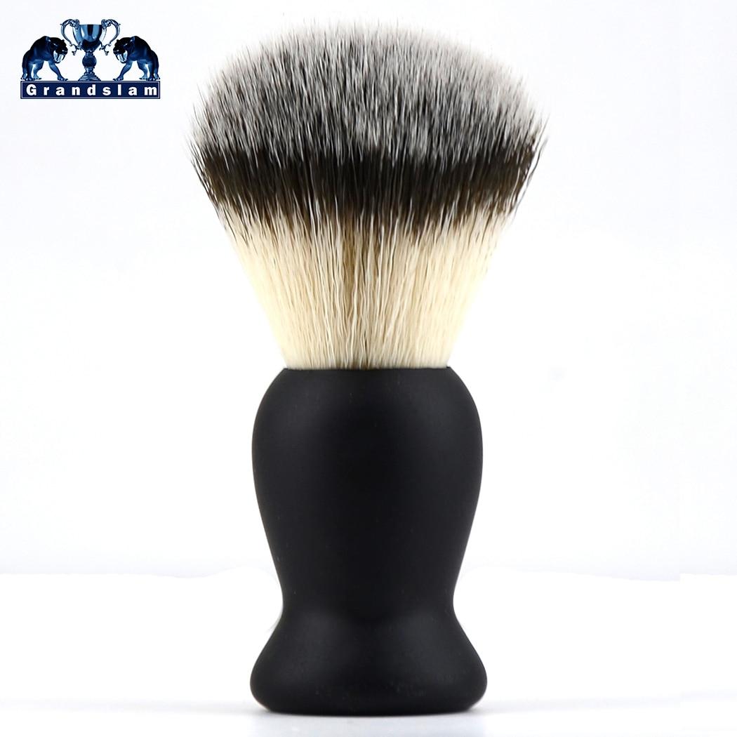 Grandslam Premium Shaving Brush Handmade Rubber Handle China Shave Brush,Professional Hair Salon Tool Engineered For Razor Shave