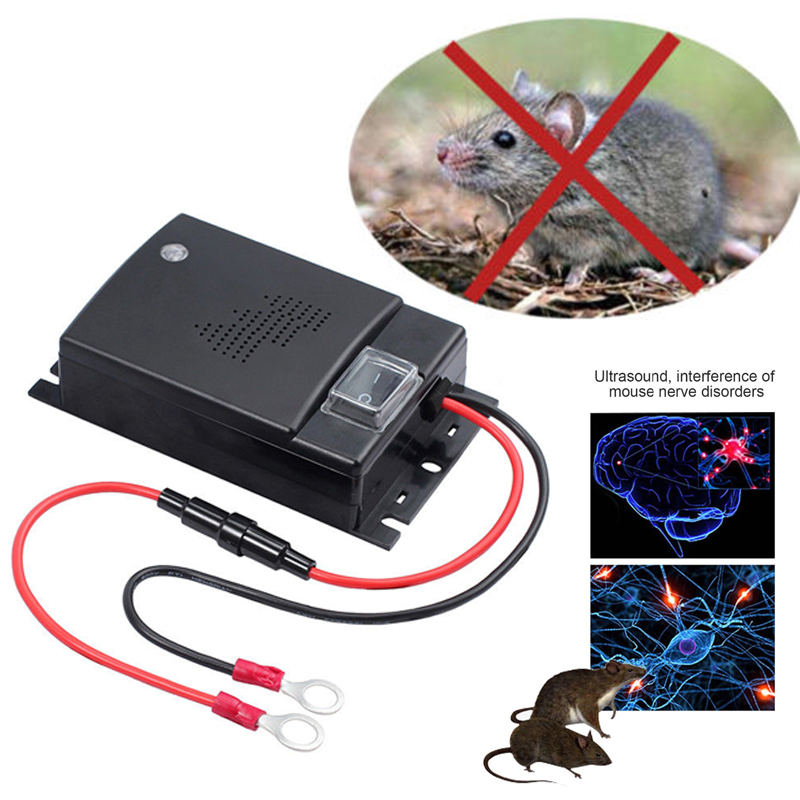 1 Pc Ultrasonic Car Mouse Repeller Automobile Rat Repellent Mouse Deterrent Animal Repeller With Ultrasound  Car Pest Repeller