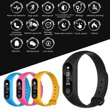 Новый смарт-браслет сердечного ритма Monitores Шагомер Bluetooth здоровья Фитнес трекер Smart Браслет для IOS Android-смартфон